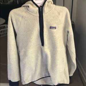 Patagonia hooded quarter zip